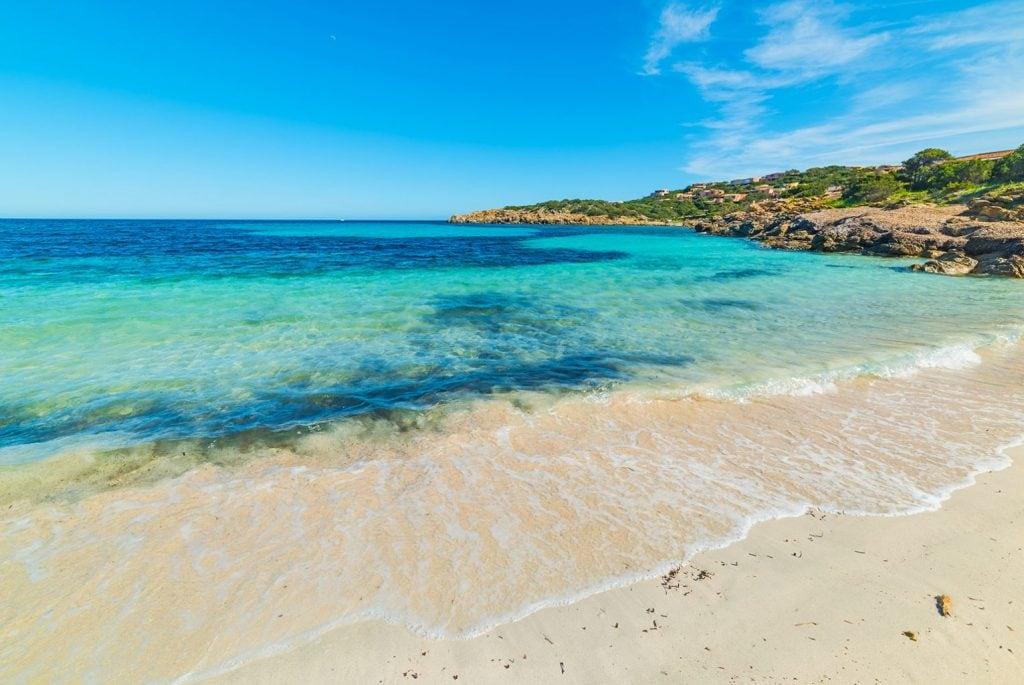 Traumstrand an der Costa Smeralda in Sardinien
