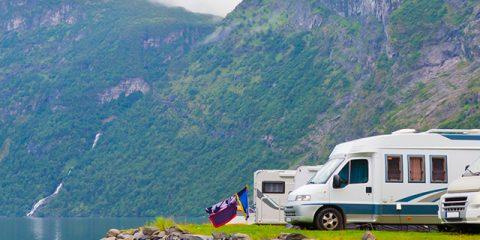 Acht Naturcampingplätze mit fantastischer Aussicht