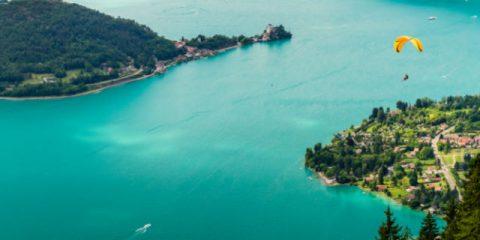 Sport und Entspannung am See von Annecy