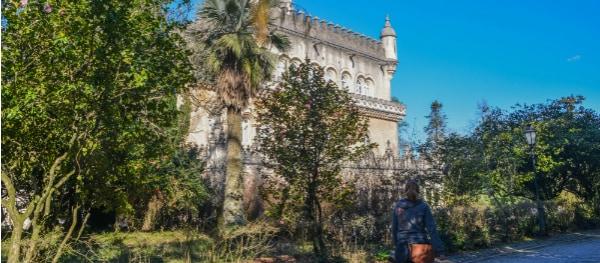 Blick auf das Palácio Hotel do Buçaco
