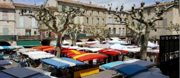 Der regionale Markt in Sommières