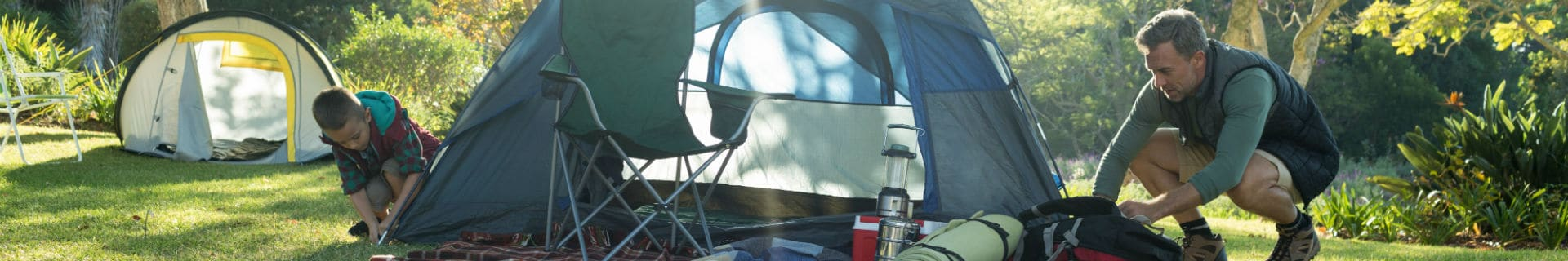 Sieben praktische Campingtricks