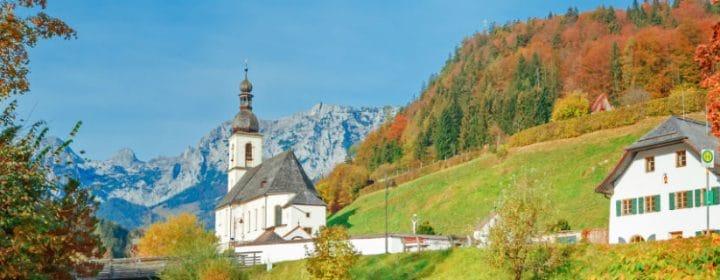 Bezaubernde Berglandschaften im Berchtesgadener Land