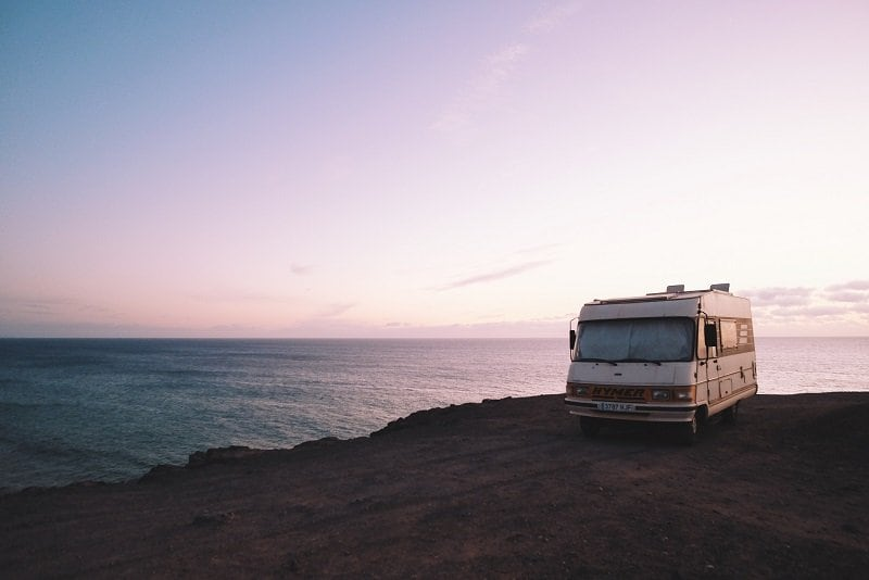 Even older, presumably less valuable campervans should be adequately insured. Third-party, fire and theft insurance should be your minimum.