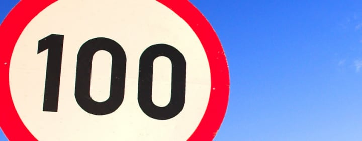 Tempolimit 100 Niederlande