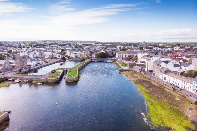 Blick über Galway