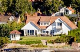 Häuser in Südnorwegen