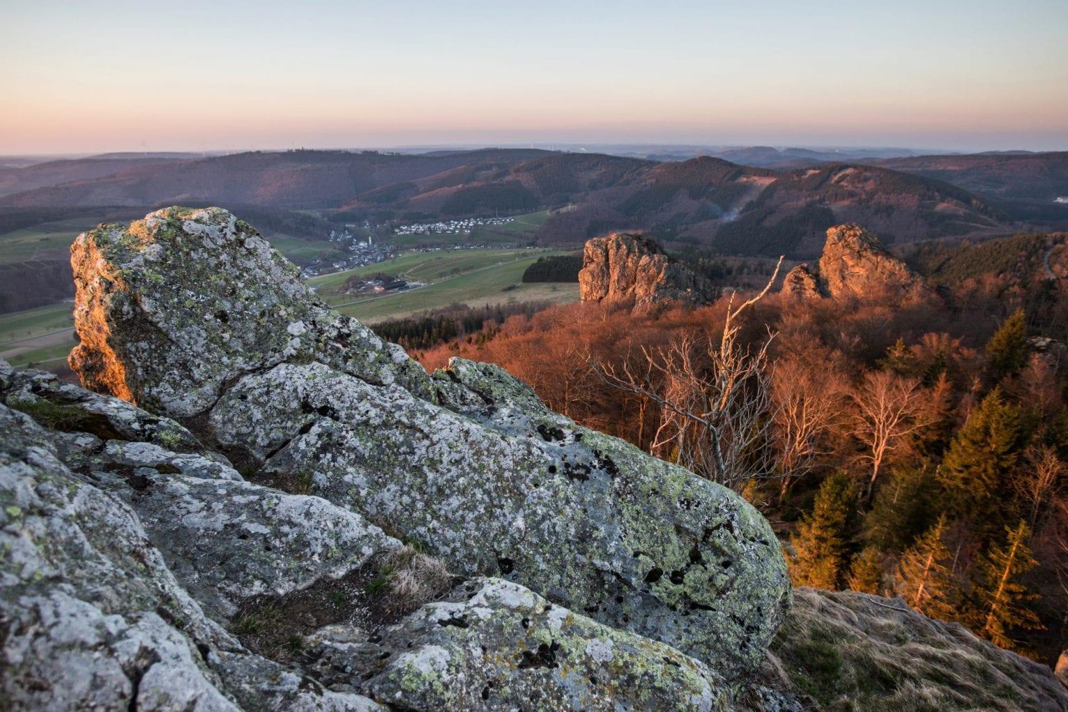 Rothaarsteig - Bruchhauser Steine