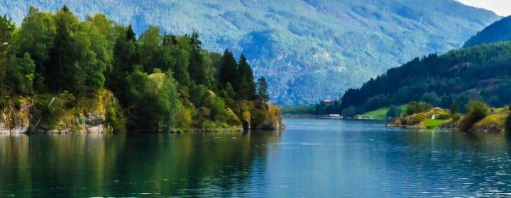 Wunderschöne Landschaften in Norwegen