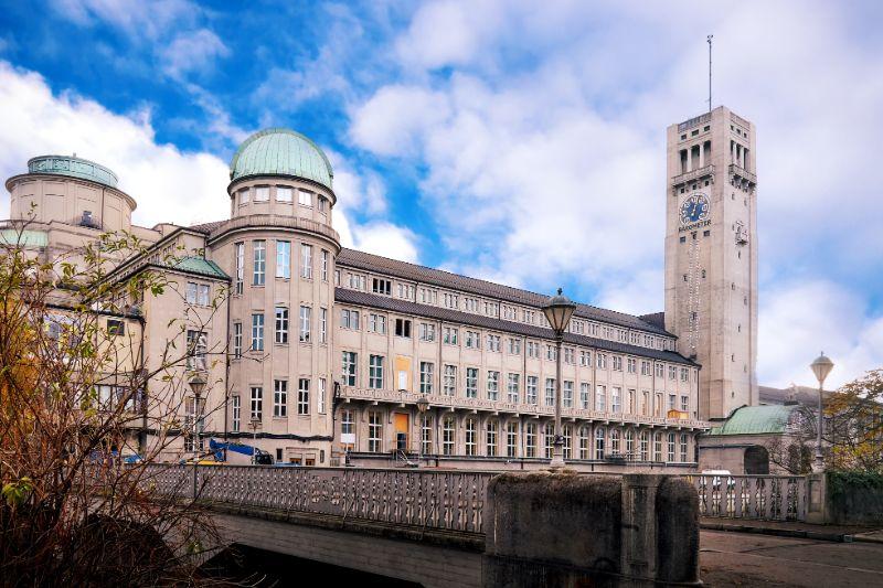 Das Deutsche Museum in München.