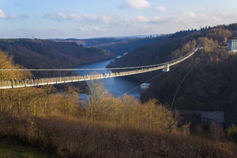 Hängeseilbrücke Titan-RT im Harz