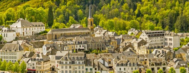 Burg Bouillon Kinder Ardennen