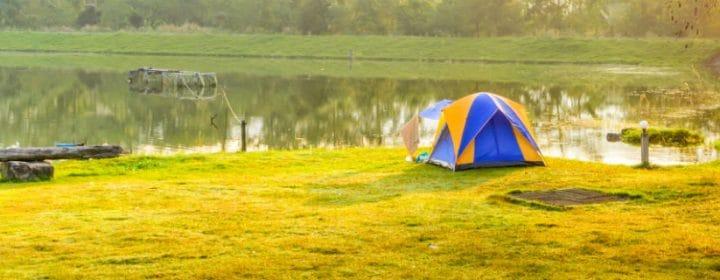 Campen im Herbst