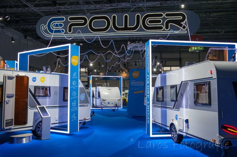 Epower Caravan Salon Dusseldorf